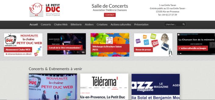 Le Petit Duc - Salle de concert à Aix-en-Provence